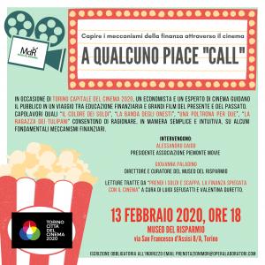 cinema ed educazione finanziaria - locandina A QUALCUNO PIACE _CALL_