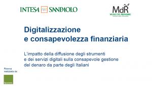 Digitalizzazione e consapevolezza finanziaria